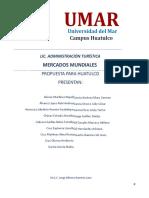 Propuesta para Huatulco Congresos y Convenciones