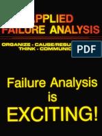 applied failure analysis