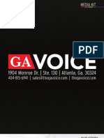 Georgia Voice Media Kit Digital 2010-2011