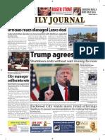 San Mateo Daily Journal 01-26-19 Edition