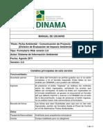 Manual Ficha Ambiental v2 Ago2011