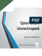 2. Opinia Publica in Uniunea Europeana