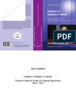 Heiner Bielefeldt-Freedom of Religion or Belief 2nd Ed-2010-2016