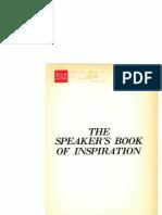 Speaker's Book of Inspiration