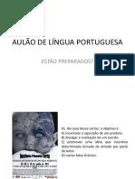 Aulão de Língua Portuguesa 3