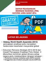 Persiapan Pin Di Provinsi Jawa Barat