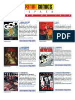 Catálogo Panini Febrero 2019