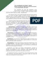 Informe de Misiones Nazarena Internacionales 2010