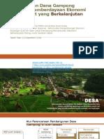 Pengelolaan Dana Gampong Berbasis Pemberdayaan Ekonomi Masyarakat Yang