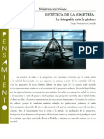 Estética de la simetría. La fotografía ante la pintura. Jorge Fernández Gonzalo (Revista Nueva Grecia).pdf