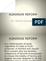 Agrarian Reform[1]