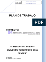 Plan de Trabajo Data Center Final