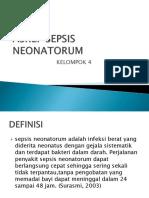 ppt Askep Sepsis Neonatorum