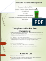 Insecticides in IPM