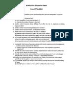 Nebosh Igc-2 Question Paper Feb Session