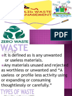 11 Solid Waste Management Pp t