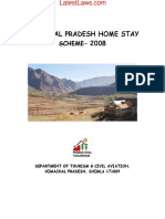 Himachal Pradesh Home Stay Scheme, 2008