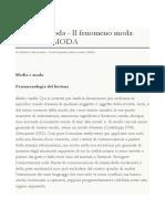 ARTICOLO - Media e Moda - Di Alberto Abruzzese - Enciclopedia Della Moda (2005)