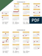 Kalender Nasional 2019-2020