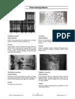 Plain Bearing Failure Cavitation Erosion Corrosion