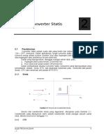 Bab II Struktur Konverter Statis