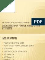 Female Succession