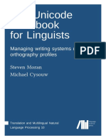 The Unicode cookbook for linguists