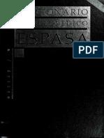 Diccionario Enciclopédico Espasa - Vol. 1