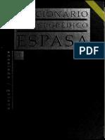 Diccionario Enciclopédico Espasa - Vol. 5