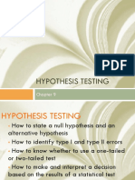 CHAPTER 9 Hypothesis Testing.pptx