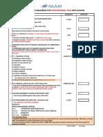 Checklist for Visa Application-post Sea (31!5!2018)