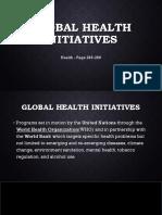 Valencia Baribar Global Health Initiatives