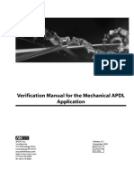 ANSYS Verification Manual - VM-1-111