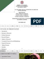 Proposal on Lapsi Pitting Mechanism
