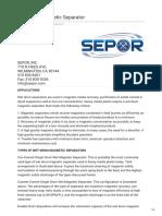 sepor.com-Wet Drum Magnetic Separator.pdf