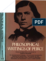 Peirce - Philosophical Writings