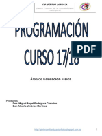 Programación E.F. 17-18