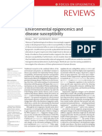 Environmental Epigenomics and Disease Susceptibility