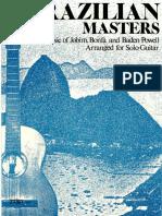 The Brazilian Masters - Jobim Bonfa Abd Baden Powell Arr Brian Hodel