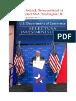 Acționarii Modpack Group Participă La Summitul Select USA