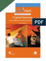 Capital Humano y Calidad de Vida Cap 1 y 2