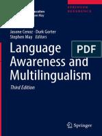 1. (Encyclopedia of Language and Education) Jasone Cenoz, Durk Gorter, Stephen May (Eds.) - Language Awareness and Multilingualism-Springer International Publishing (2017)