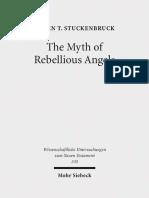 Loren T Stuckenbruck the Myth of Rebellious Angels 2014