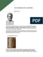 Filosofos Oradores de La Historia