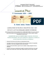 V Centenario Leonardo Da Vinci 2018 2019
