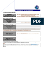 Solicitud de Codigo Empresa Provincia Fecha Oficial
