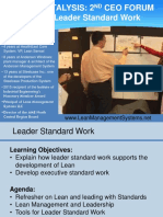 1 2017 CEO Standard Work Short