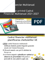 Cadrul Financiar Multianual 2014-2020