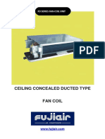 Ceiling Concealed Ducted Type- New Design Fd Series