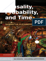 causality probability time